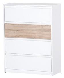 Szynaka Meble Wenecja 07 Drawer 80x104x38cm White