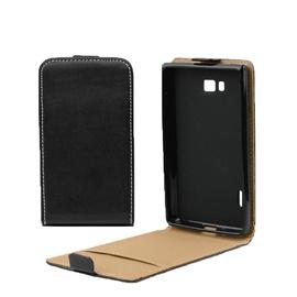 Forcell Slim 2 Flip For Nokia 625 Lumia Vertical Case In Plastic Holder Black