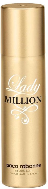 Paco Rabanne Lady Million 150ml Deodorant