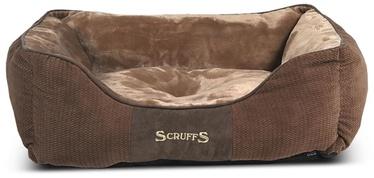 Кровать для животных Scruffs Chester M, коричневый, 600 мм x 500 мм