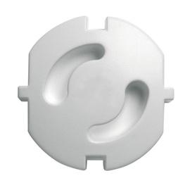 Kištukinio lizdo apsaugos N&L, 5 vnt, baltos sp.
