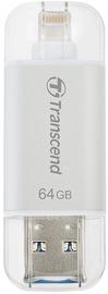 Transcend 64GB JetDrive Go 300 USB 3.1 Silver