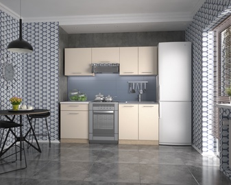 Virtuvinių spintelių komplektas Marija 200, kreminė