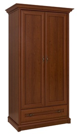 Black Red White Kent Wardrobe Chestnut