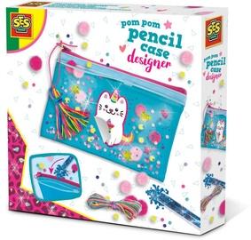 SES Creative Pom Pom Pencil Case Designer