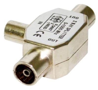 Vakoss Antenna Plug RF male / 2x RF