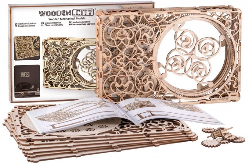 Wooden City Mechanical Model 265pcs WR311