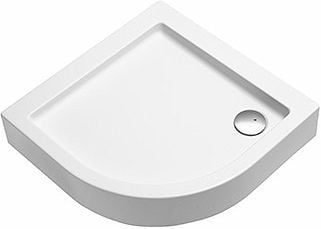 KOLO Simplo Shower Tray 90x90 White
