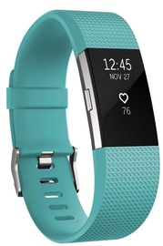 Fitbit Charge 2 Small Teal/Silver