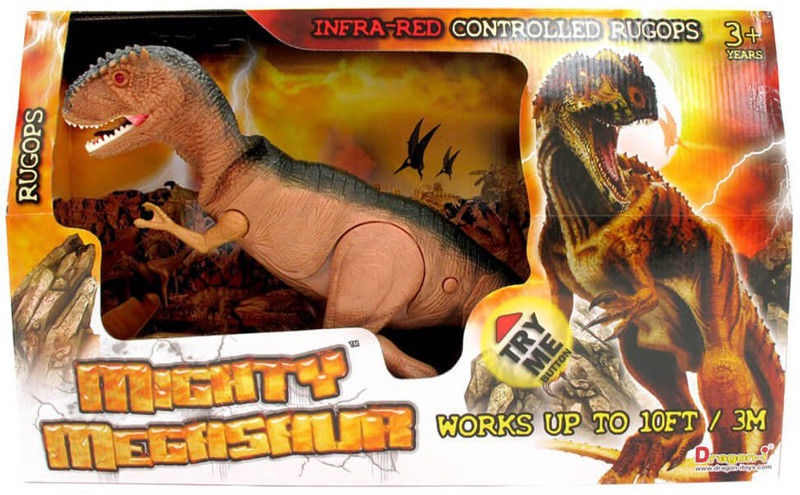 Dragoni Toys Mighty Megasaur Infrared Controlled Walking Dinosaur 80041A