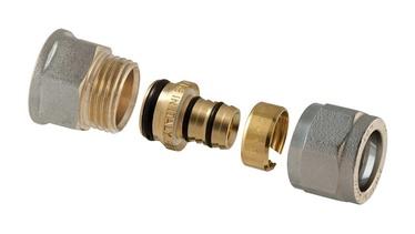 "Išardomasis srieginis antgalis, TDM Brass, 1/2"" x 20 mm, su vidiniu sriegiu"