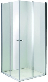 Vento Prato Shower Transparent 90x195cm