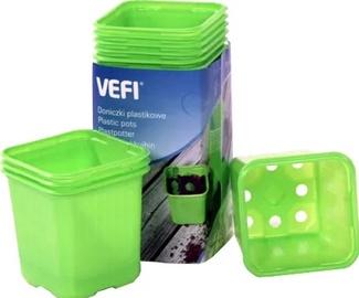 Pods dēstiem plastmasas gaiši zaļš 6x6, 30gb