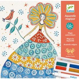 Djeco For Older Children Workshops Romantic Flowers Magic Watercolours