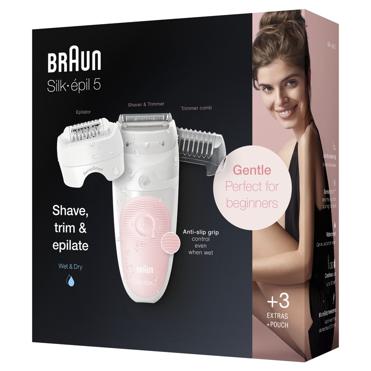 Epilators Braun SES 5620