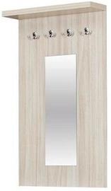 Bodzio Clothes Hanger With Mirror Amadis Latte