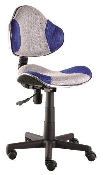 Biroja krēsls Signal Meble Q-G2 Blue/Grey