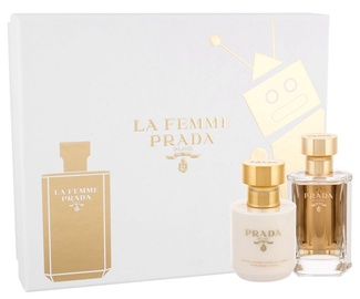 Набор для женщин Prada La Femme De Prada 50 ml EDP + Body Lotion 100 ml