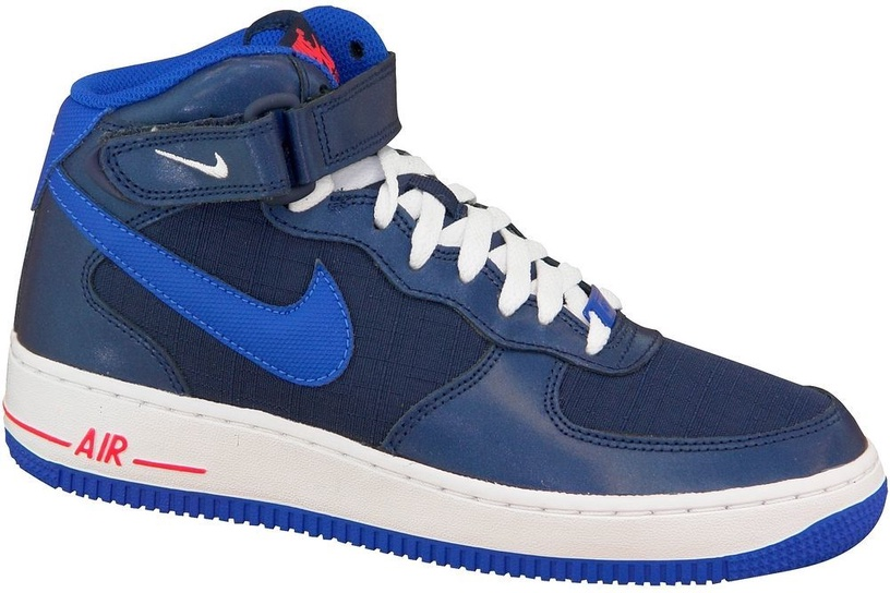 Nike Sneakers Air Force 1 Mid Gs 314195-412 Blue 38