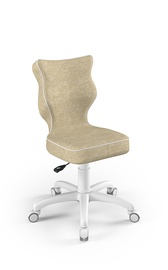 Детский стул Entelo Petit VS26, белый/кремовый, 300 мм x 775 мм