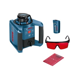 Bosch GRL 250 HV Rotation Laser Level with RC 1 Remote Controller