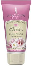 Afrodita Hand Cream Hydration Jasmine & Magnolia Hand & Nail 75ml