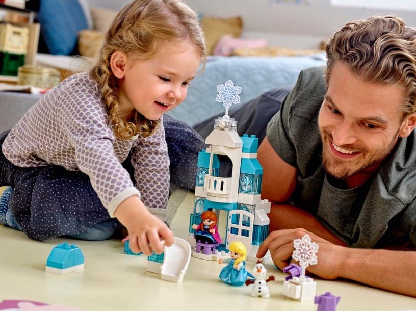 """Konstruktor LEGO® Princess TM 10899 """"Lumekuninganna ja igavene talv"""" jääkindlus"""