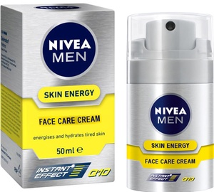 Näokreem Nivea Men Skin Energy Face Care Cream, 50 ml