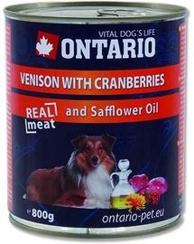 Ontario Venison With Cranberries 800g