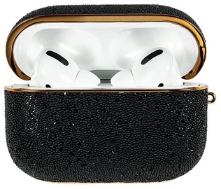 Kingxbar Crystal Fabric Shiny Glitter Case For AirPods AirPods Pro Black