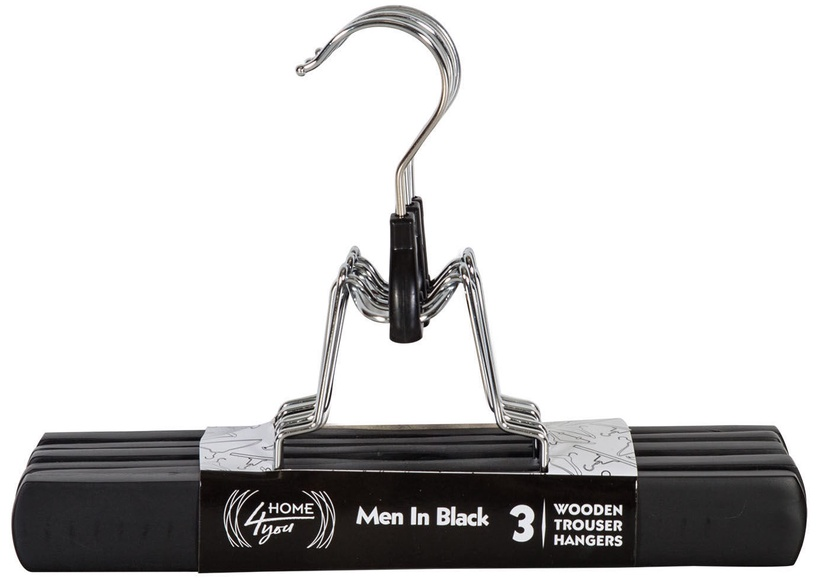 Вешалка для одежды Home4you Men In Black, 3 шт.