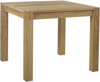 Home4you Chicago New Table 90x90x76cm Oak