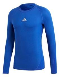 Adidas Alphaskin Sport Long Sleeve Top CW9488 Blue 2XL