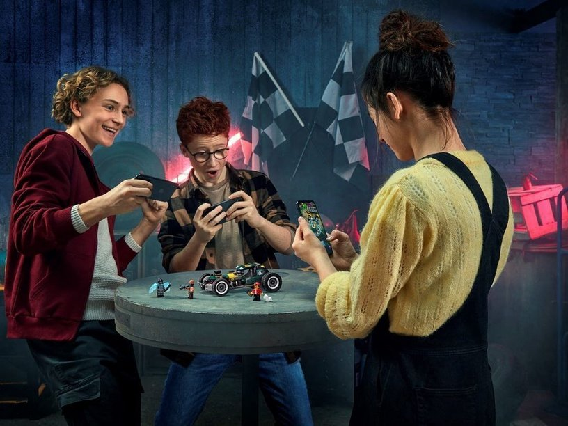 Конструктор LEGO®Hidden Side 70434 Сверхъестественная гоночная машина