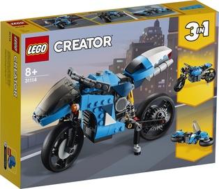 KONSTRUKT. LEGO CREATOR SUPERBIKE 31114