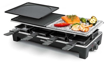 Rommelsbacher Raclette Grill RCS 1350 Black/Inox
