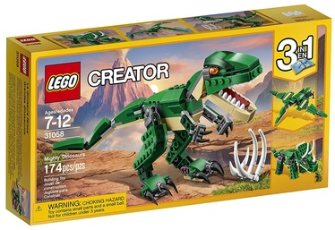 Konstruktor LEGO Creator Mighty Dinosaurs 31058