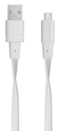 Rivacase Cable USB To Micro USB VA6000 WT12 1.2m White