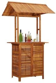 Садовый стол VLX 45909, коричневый