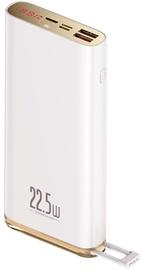 Mobili akumulatora lādētāji Baseus Quick Charge PD3.0 20000mAh White