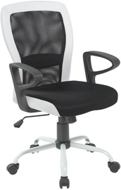 Home4you Office Chair Leno Black/White 27785