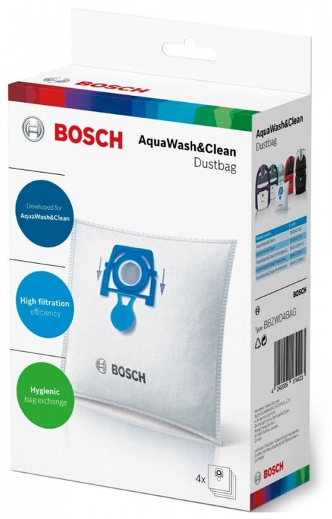 Мешок для пыли Bosch BBZWD4BAG, 4 шт.