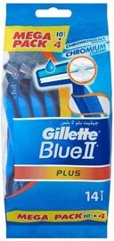 Skustuvas Gillette Blue II Plus Disposable Razors 14pcs