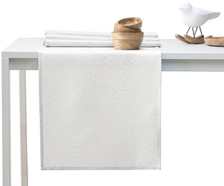 AmeliaHome Gaia AH/HMD Tablecloth Cream Set 115x300/35x300cm 2pcs