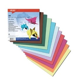 Herlitz Origami Folding Paper 20x20cm 100 Pages