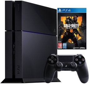 Sony Playstation 4 (PS4) 500GB Black + Call of Duty: Black Ops 4