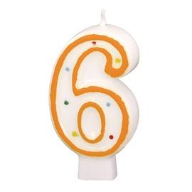 Dzimšanas dienas svece Amscan 6