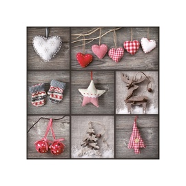 Kalėdinės servetėlės, 33 x 33 cm, 20 vnt