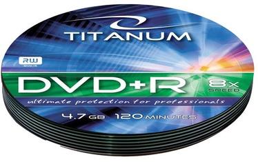 Esperanza 1220 Titanum DVD+R 8x 4.7GB Soft Pack 10 DVD's