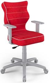 Детский стул Entelo Duo Size 5 VS09, красный/серый, 375 мм x 1000 мм